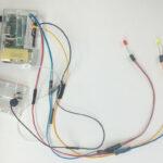 [電子工作] Raspberry Piでネットワーク負荷検知ランプを作った(後編)